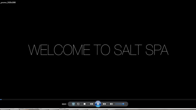 Salt Spa Promo Video